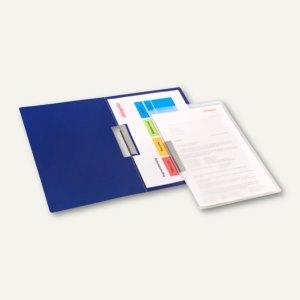 dataplus Klemmhefter, DIN A4, blau, 26042014