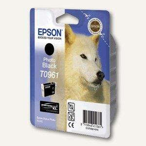Epson Tintenpatrone T0961, photo-schwarz, C13T09614010