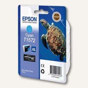 Epson Tintenpatrone T1572, cyan, C13T15724010