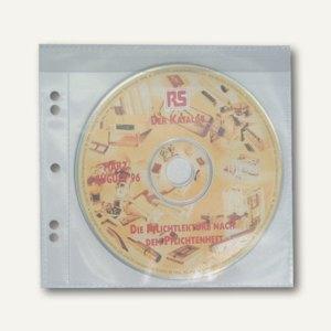 dataplus CD-Tasche flexibel PP, glasklar, 100 Stück, 47060080