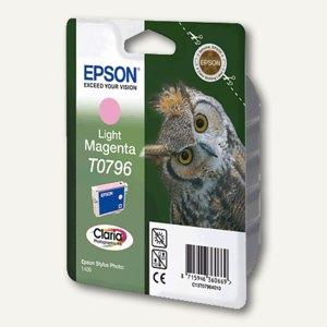 Epson Tintenpatrone T0796, magenta hell, C13T07964010