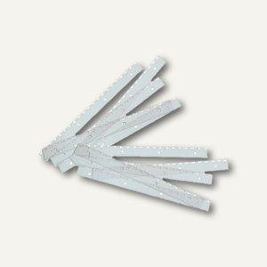 GBC Abheftstreifen FileStrips für SureBind 10 Kämme, PVC, 100 Stück, 4400385E