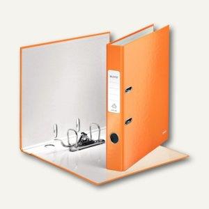 LEITZ Ordner WOW, 180 Grad, DIN A4, 50 mm, orange-metallic, 1006-00-44