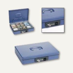 Inkiess Geldkassette blau mit Tastenöffnung und Klammer, 53023301245200