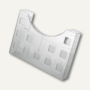 Helit Prospekthalter, 1 Fach, A5 quer/ A6 hoch, glasklar, H6102602