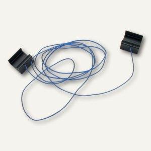 Ultradex Terminzeiger z. Einhängen in Aluminiumrahmen, L 1.500 mm, blau, 153507