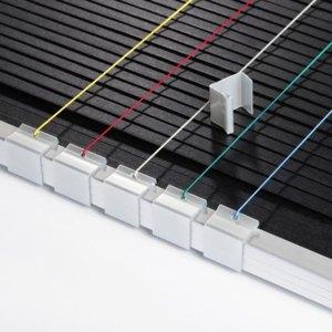 Terminanzeiger z. Einhängen in Aluminiumrahmen