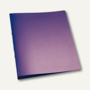 officio Ringbuch, DIN A4, violett-transparent, Ringdurchmesser 25 mm