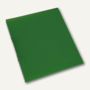 officio Ringbuch, DIN A4, grün-transparent, Ringdurchmesser 16 mm
