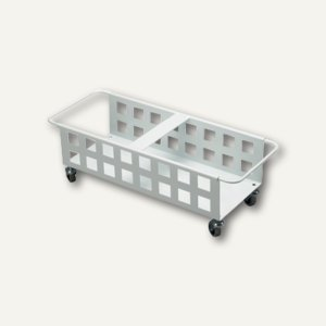 Durable Fahrwagen DURABIN SQUARE TROLLEY DUO 40, weiß, 1801622010