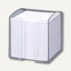 Zettelkasten TREND inkl. 800 Blatt, quadratisch, transparent, 6 St., 1701682400