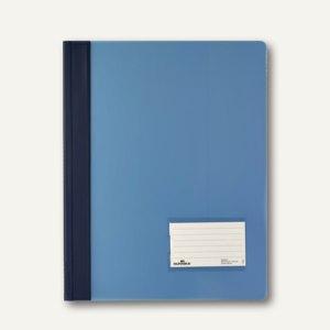 Durable Schnellhefter DURALUX A4+ 2680, transluzent-blau, 2680-06