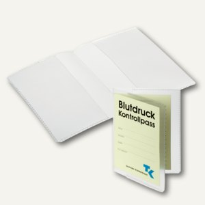 Durable Schutzhülle DIN A7, 2-fach, PP, transparent, 2138-19