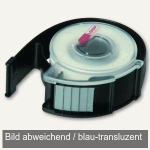 FolderSys LOOP Klebebandabroller transluzent blau, 9300244, 93002-44