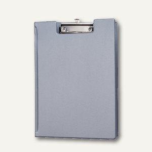 MAUL Schreibmappe, DIN A4, Folienüberzug, Innentasche, silber, 12St., 2339295