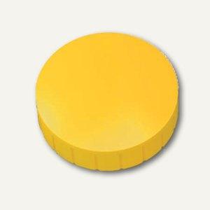 Hebel Solidmagnet, Ø 38 mm, Haftkraft: 2.5 kg, gelb, 10 Stück, 6163913