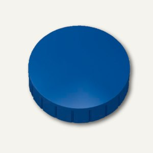 Hebel Solidmagnet, Ø 20 mm, Haftkraft: 0.3 kg, blau, 10 Stück, 6162035