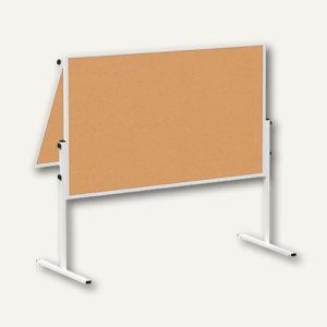 Hebel Moderationstafel solid klappbar, 120 x 150 cm, Kork, 6366882