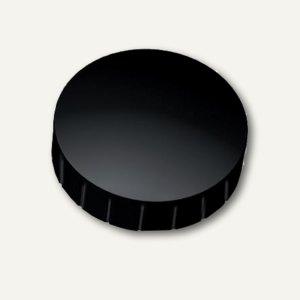 Hebel Solidmagnet, Ø 38 mm, Haftkraft: 2.5 kg, schwarz, 10 Stück, 6163990