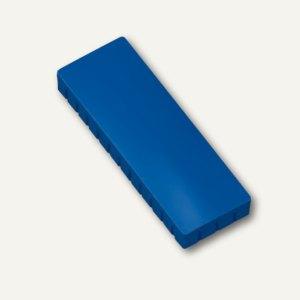 Hebel Solidmagnet, 50 x 19 mm, Haftkraft: 1.0 kg, blau, 10 Stück, 6165035