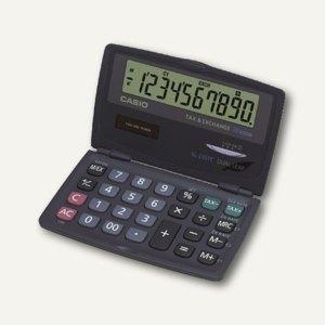 Casio Taschenrechner, mit Solar/Batteriebetrieb, MwSt.-Berechnung, SL-210TE