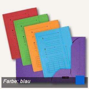 Elba ULTIMATE Einstellmappen mit 2 Klappen, DIN A4, blau, 25 Stück, 100330147