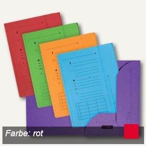 Elba ULTIMATE Einstellmappen mit 2 Klappen, DIN A4, rot, 25 Stück, 100330148
