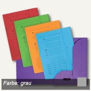 Elba ULTIMATE Einstellmappen mit 2 Klappen, DIN A4, grau, 25 Stück, 100330152