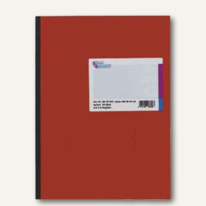 König & Ebhardt Kladde, DIN A4, 96 Blatt, kariert, Register A-Z, 8618642