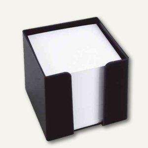 König & Ebhardt KÖNIG & EBHARDT Zettelbox, 95x95mm, 700 Blatt, schwarz,860101090