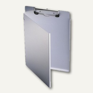 Durable Klemmbrett, DIN A4 L, Klemmfeder, Aluminium, anti-mikrobiell, 339123