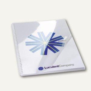 GBC Einbanddeckel HiClear, DIN A4, PVC, 150 mic., super klar,100 St., CE011580E