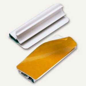 Zettelhalter VARIOCLIP, 60 mm, weiß, selbstklebend, 20 Blatt, 5 St., 280602