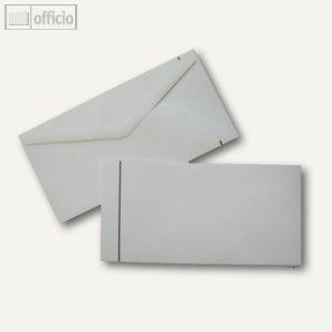 Trauerumschläge DIN lang, 110 x 220 mm, Nasskleb., weiß, offset, 100St., 2506939