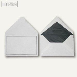 Trauerumschläge, 118 x 182 mm, Nassklebung, weiß, offset, 100 Stück, 2502273
