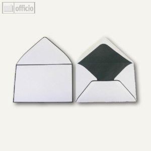 Trauerumschläge, 120 x 180 mm, Nassklebung, weiß, offset, 100 Stück, 2502276