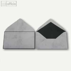 Trauerumschläge, 120 x 205 mm, Nassklebung, marmor, offset, 100 Stück, 2502280
