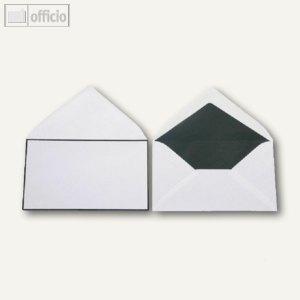 Trauerumschläge, 120 x 205 mm, Nassklebung, weiß, offset, 500 Stück, 2502281