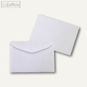 Kuvertierhüllen, 114 x 162 mm, Nassklebung, weiß, offset, 1000 Stück, 2508