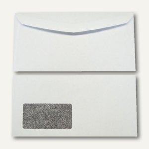 Kuvertierhüllen - C6/5, 114x229mm, 80g/m2, Fenster, Offset, weiß, 1.000St.