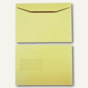 Kuvertierhüllen DIN C5 162 x 229 mm 80g/qm Fenster natron braun 500 St.