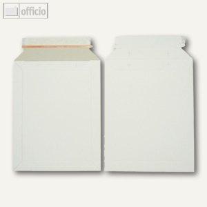 officio Vollpapptaschen, 215 x 270 mm, Duplexkarton, weiß, 200 Stück, 250760