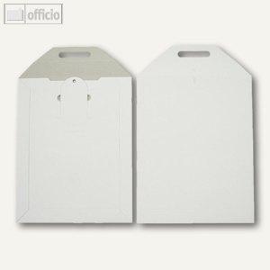 officio Vollpapptaschen, 215 x 270 mm, Duplexkarton, weiß, 200 Stück, 2501032