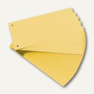 Herlitz Trennstreifen 105 x 240 mm, gelb, 100 Stück, 10843613