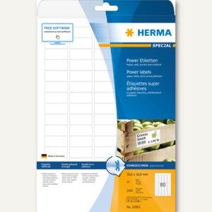 Herma Power Etiketten SPECIAL, 35.6 x 16.9 mm, 2.000 Stück, 10901