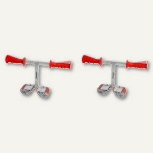 "Carrymate Plattenträger ""CARRYMATE T-Griff"", Spannweite 40-120 mm, 1 Paar,TG120P"