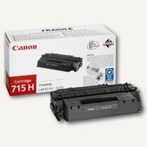 """Canon Lasertoner LBP3310/3370, """"715H"""", schwarz, ca. 7.000 Seiten, 1976B002"""