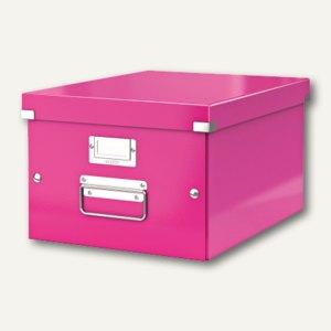 LEITZ Ablagebox Click & Store WOW, DIN A4, pink, 6044-00-23