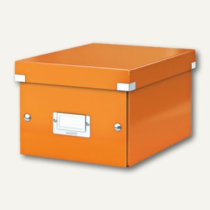 LEITZ Ablagebox Click & Store WOW, DIN A5, orange, 6043-00-44