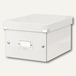 LEITZ Ablagebox Click & Store WOW, DIN A5, weiß, 6043-00-01